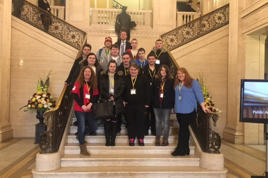 Attorney General with Fairbrige Young People