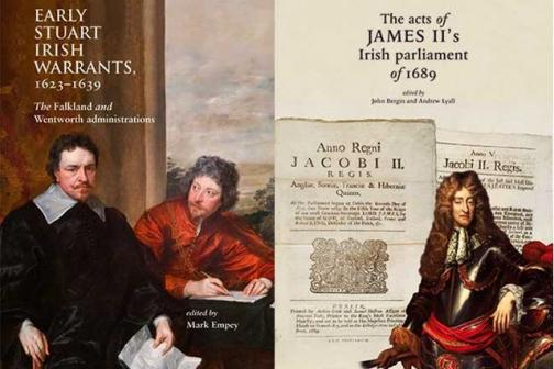 Early Stuart Irish Warrants The acts of James II's Irish parliament