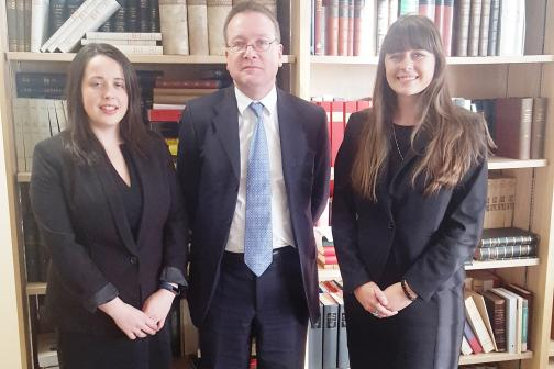 Attorney General's Bar Pupillage prize winners